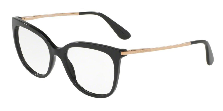 d68ae8439fc Dolce   Gabbana. Women s Black Dolce gabbana Dg3259 Eyeglass Frames 501-51