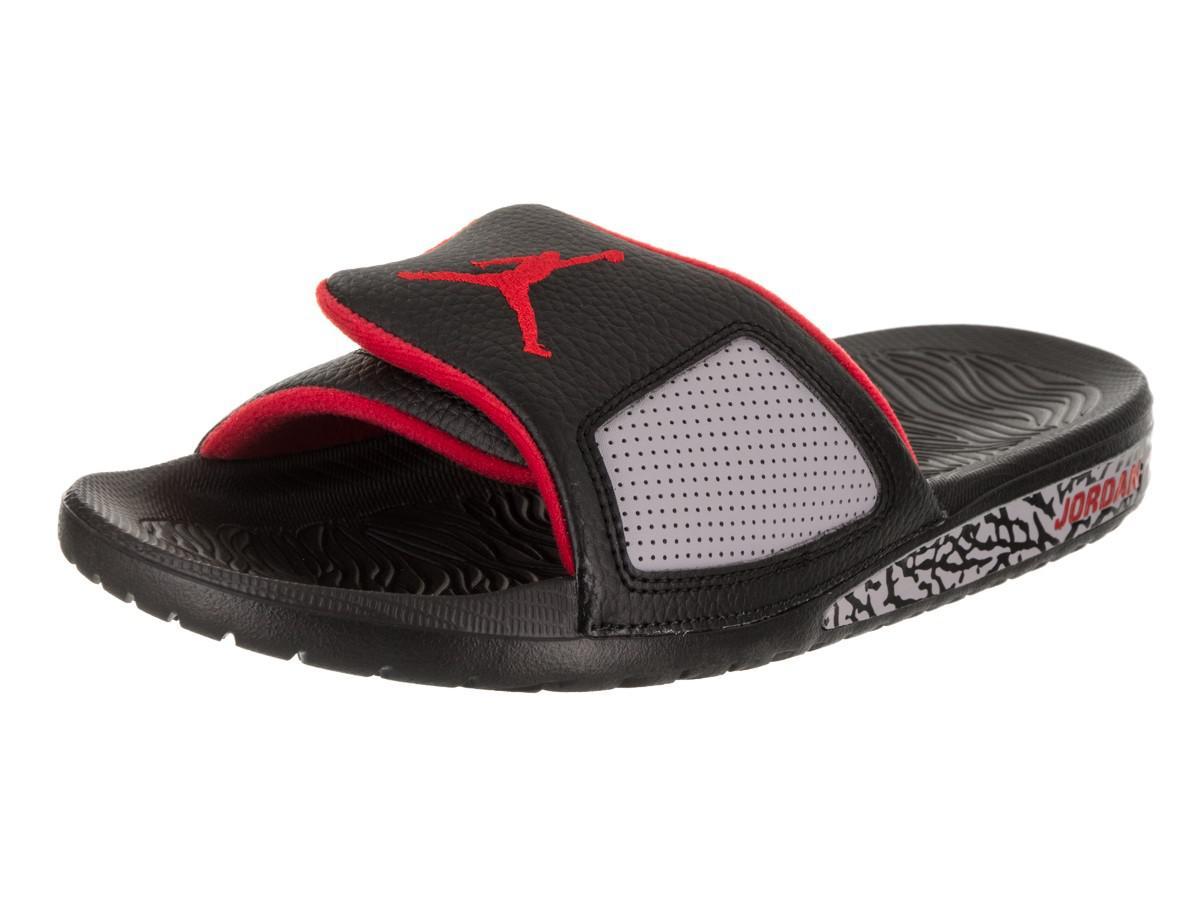 1feadb7a2455f8 Lyst - Nike Nike 854556-003   Jordan Hydro Iii Retro Black ...