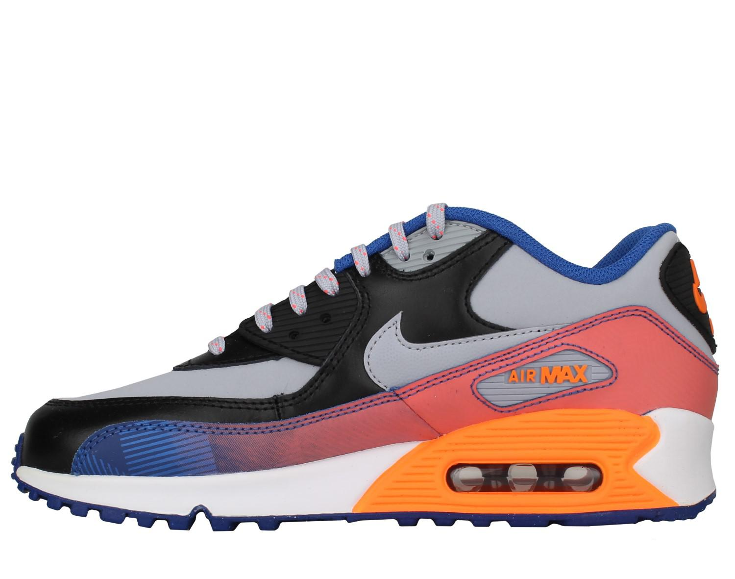 size 40 debaa d5a48 Lyst - Nike Air Max 90 Premium Leather (gs) Big Kids Running Shoes ...