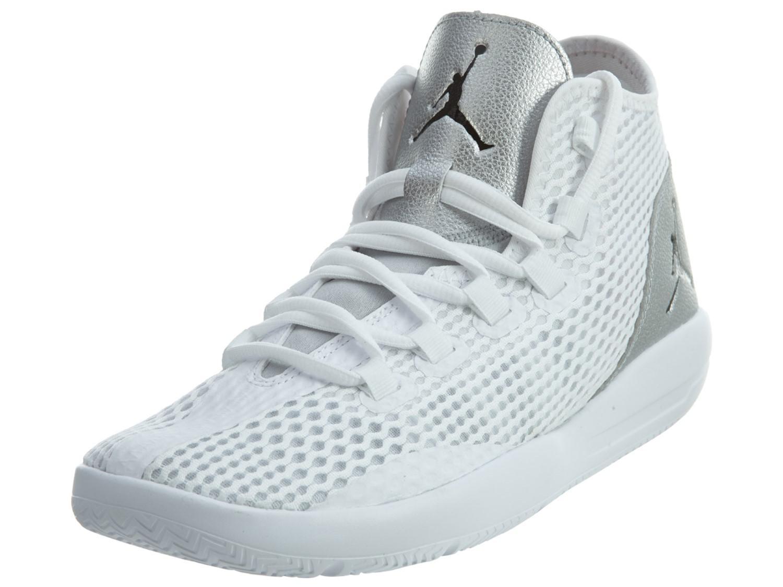 78c457c1f6b70c Lyst - Nike Jordan Reveal White   Black Metallic Silver Infrared 23 ...