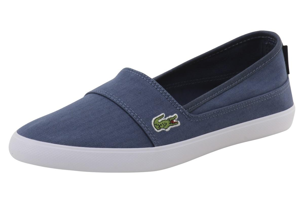 357f845d4e58c4 Lyst - Lacoste Marice 316 1 Blue Fashion Sneakers Shoes Sz  9 in ...