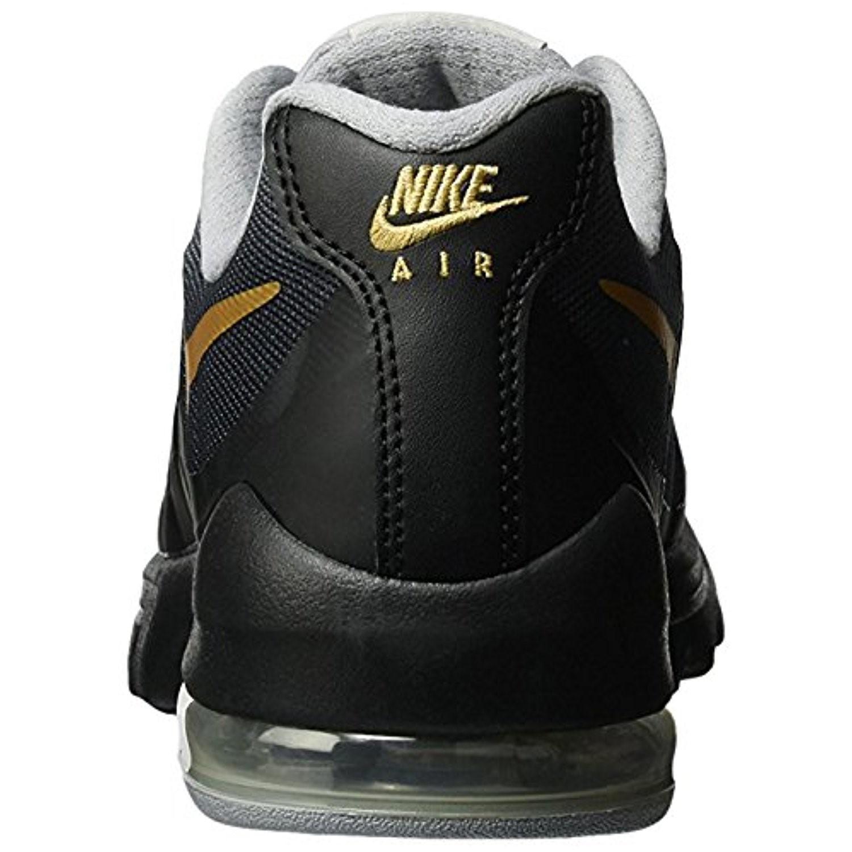 28605bf225 czech nike air max invigor print black metallic gold wolf grey running shoe  6.5 us 8ced0