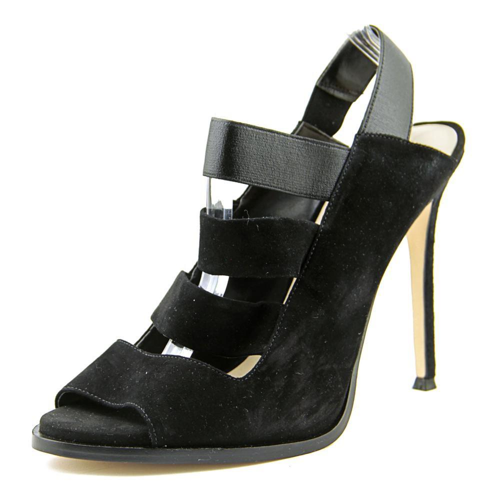 Nine West. Women's Hallan Black Sandals