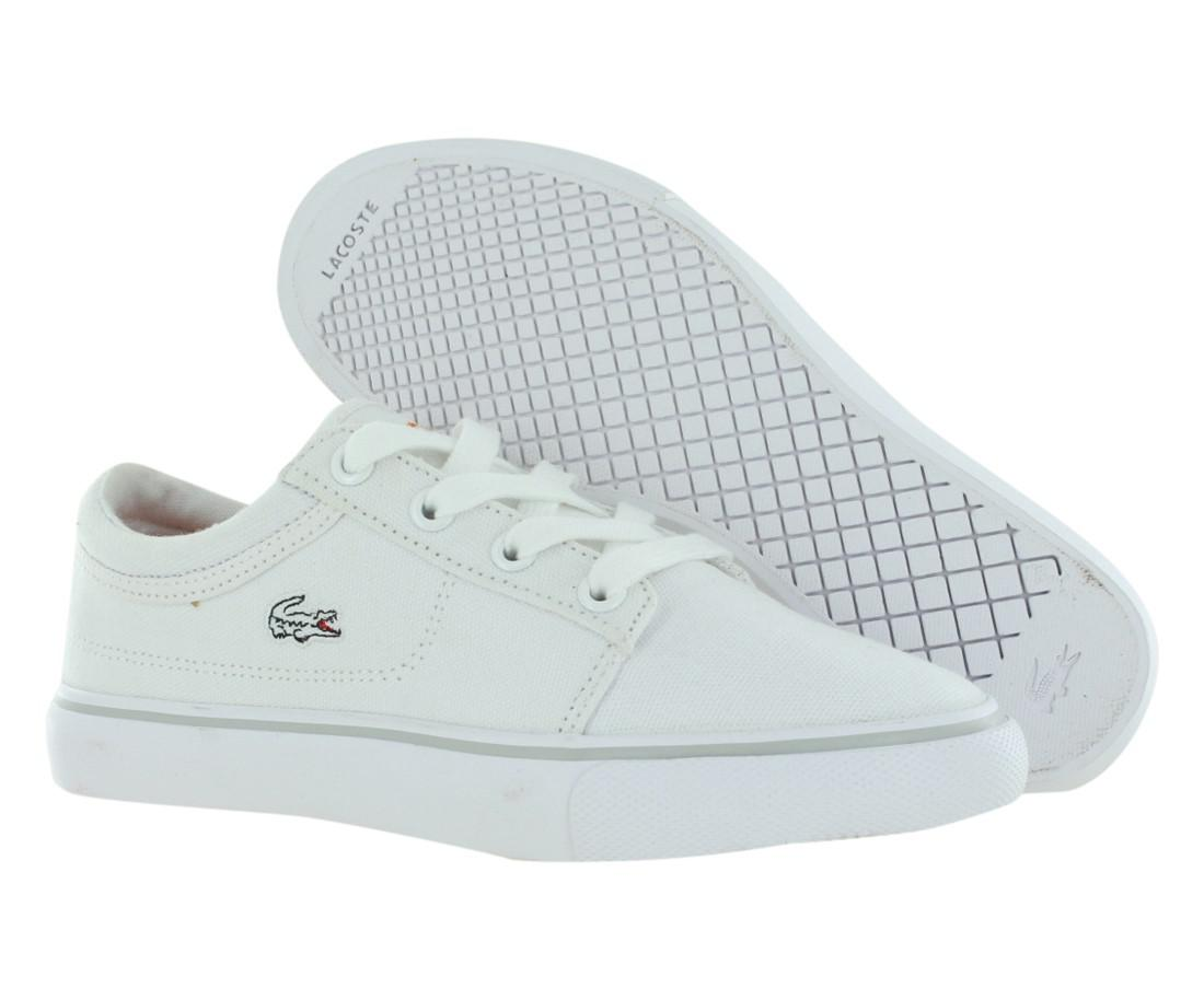d31ddc957250 Lyst - Lacoste Allstar Fsmspccnv Casual Kid s Shoes Size 13 in Blue ...
