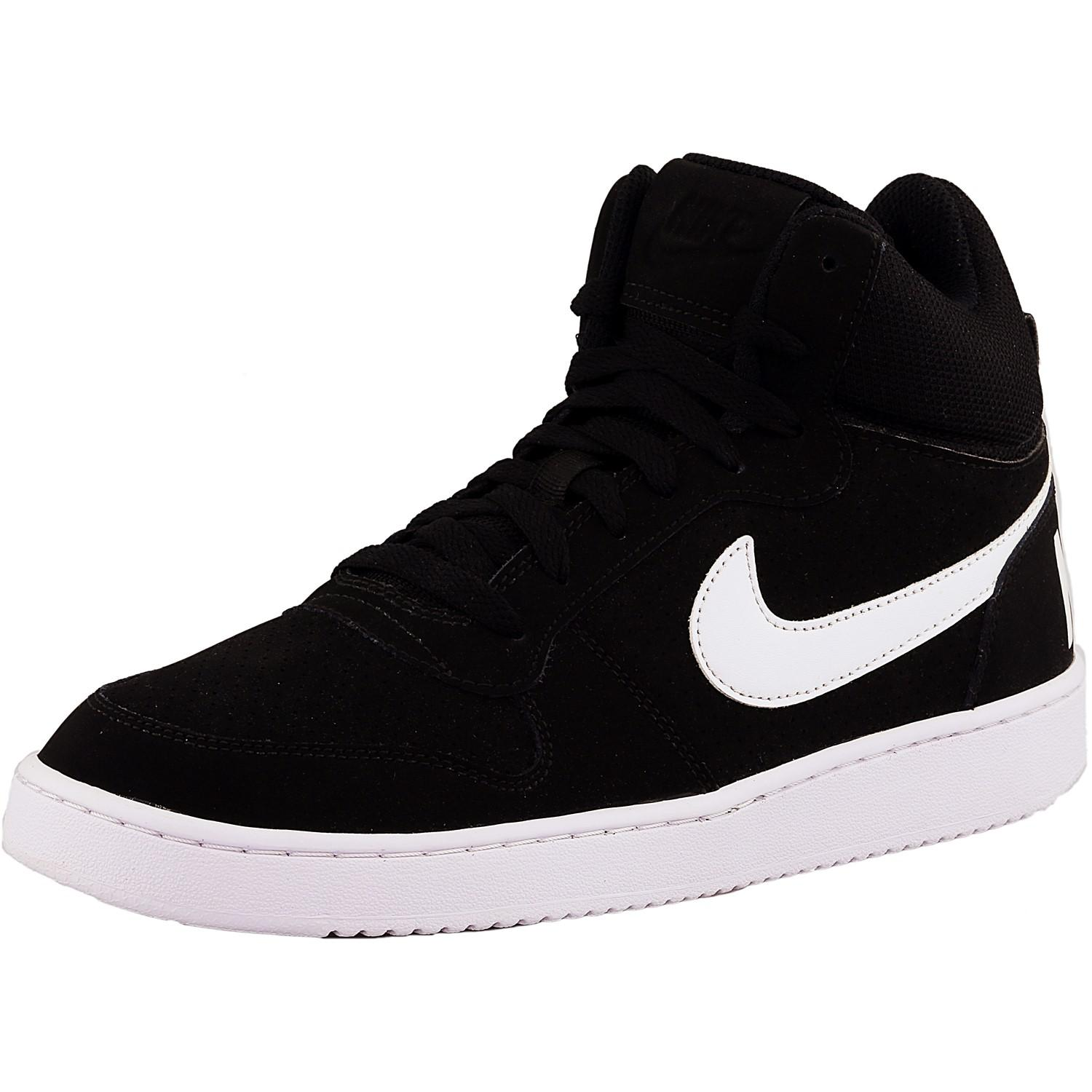 100% authentic 2d2ed 4172a Lyst - Nike Court Borough Mid 010 Mid-top Leather Basketball