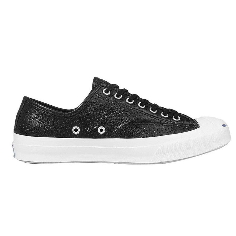 c3e9e6a96dc3 Lyst - Converse Jack Purcell Signature Ox Black white 151475c-001 ...