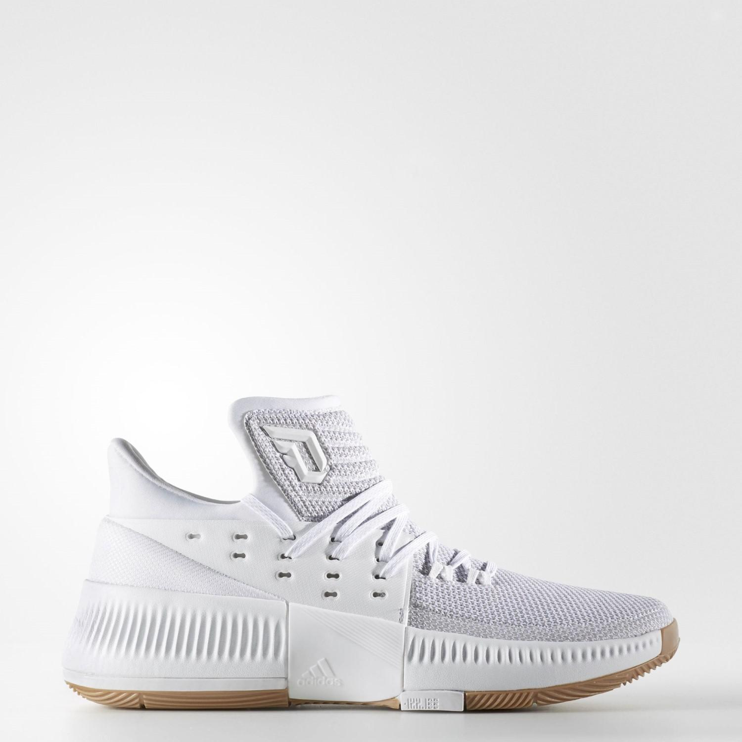 separation shoes efb4f 91e56 Lyst - Adidas Dame 3 Shoe Basketball 6.5 in White for Men