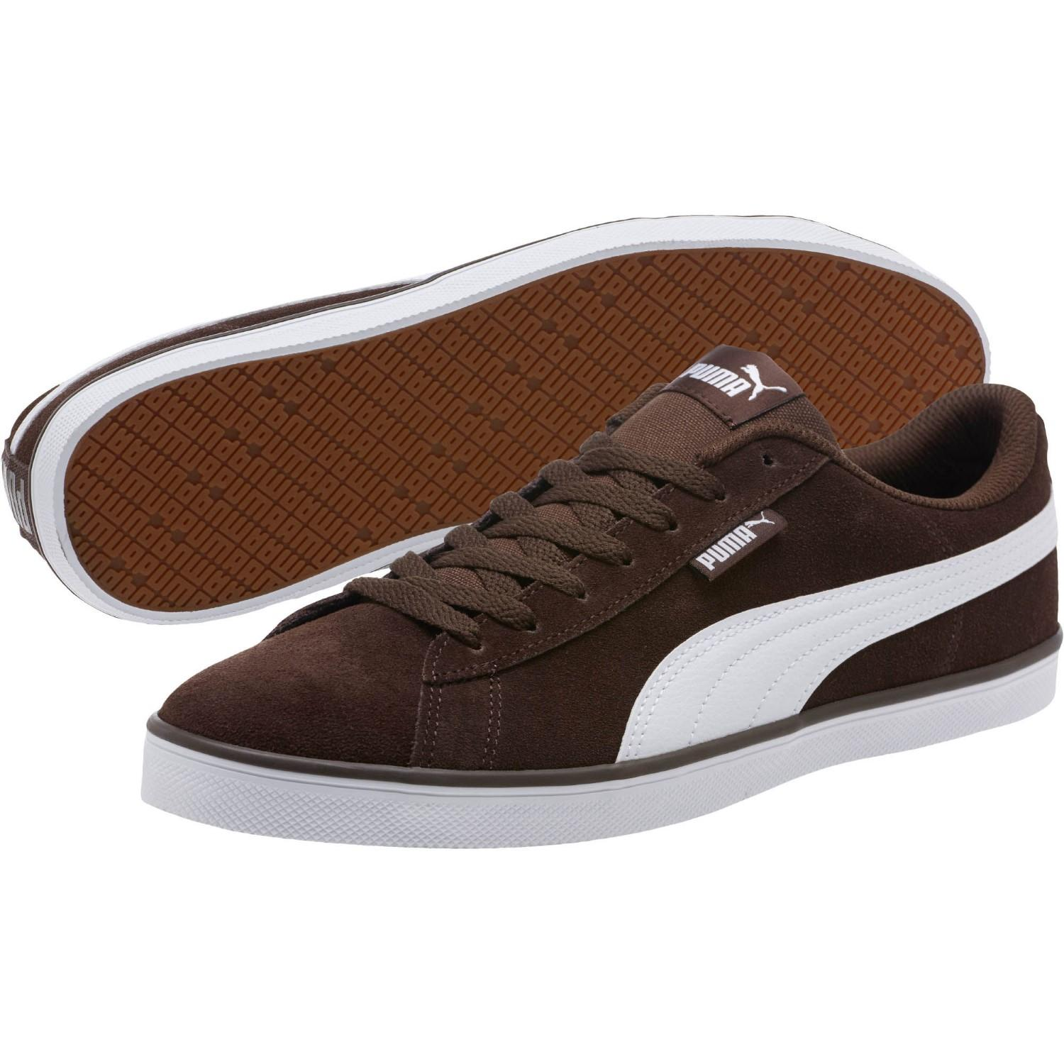 290f92bea70e85 Lyst - PUMA Urban Plus Suede Sneakers in Brown for Men - Save 26%