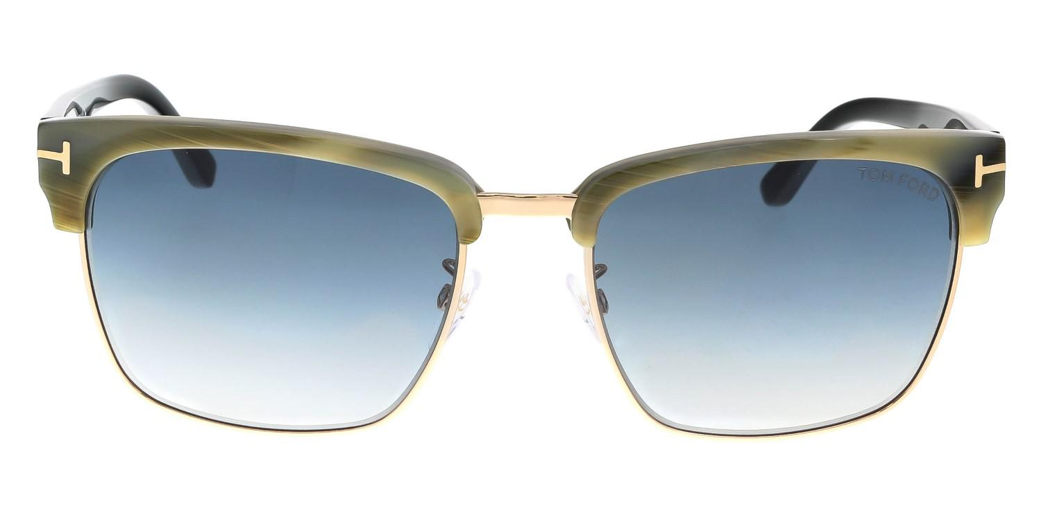 01cce9bbd061c Lyst - Tom Ford Ft0367 River Square Sunglasses
