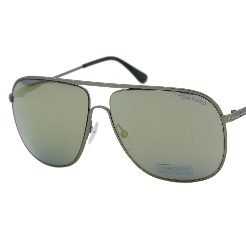 906ecc31f3 Lyst - Tom Ford Ft0451 Dominic Aviator Sunglasses