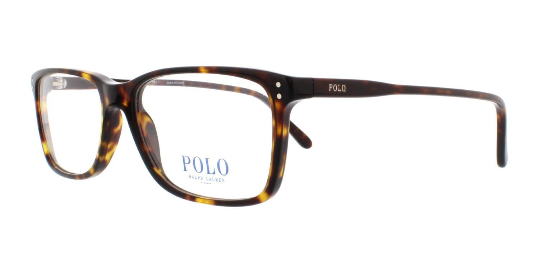1a65e093236e Polo Ralph Lauren Eyeglasses Polo Ph 2155 5003 Shiny Dark Havana in ...