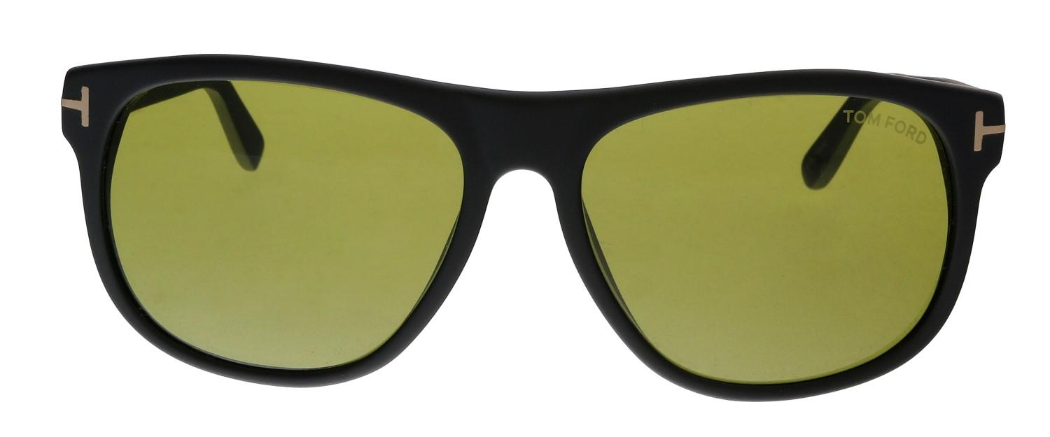 2d0ba1d3b2d Tom Ford - Black Olivier Tf236 Tf 236 02n Matte Fashion Square Sunglasses  58mm -. View fullscreen