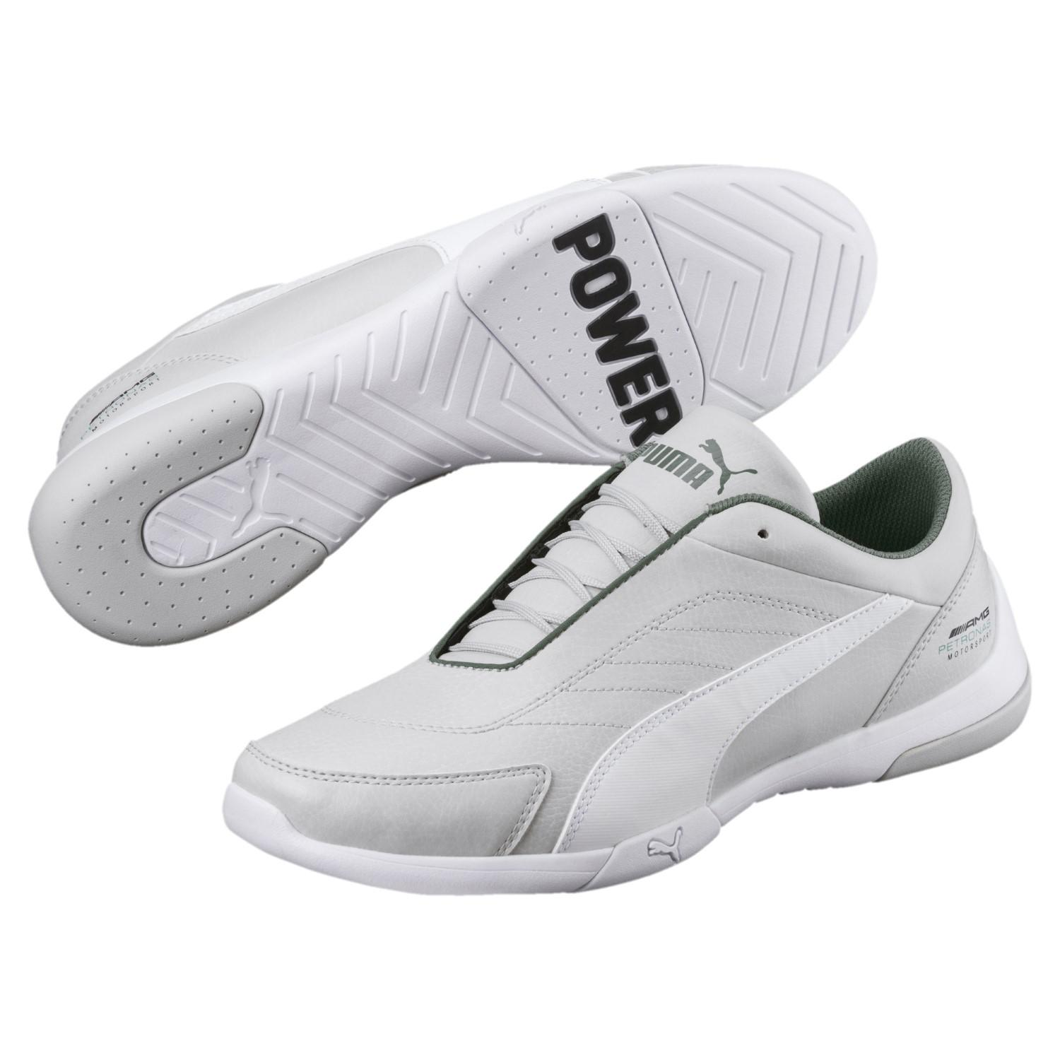 eb1818d40bb7d6 Lyst - PUMA Mercedes Amg Petronas Kart Cat Iii Sneakers in White for Men