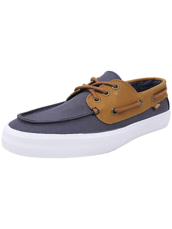 34ccff36ca Vans - Blue Chauffeur Sf Boat Shoe for Men - Lyst. View fullscreen