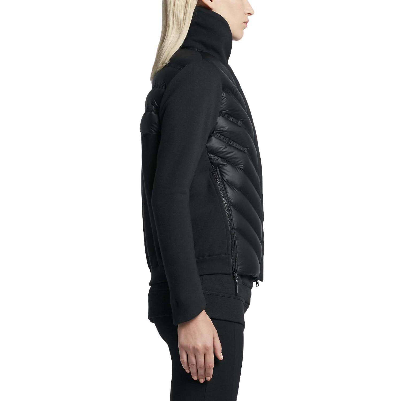 da019aba3 Nike Tech Fleece Aeroloft Down Bomber Jacket-black-xs in Black - Lyst