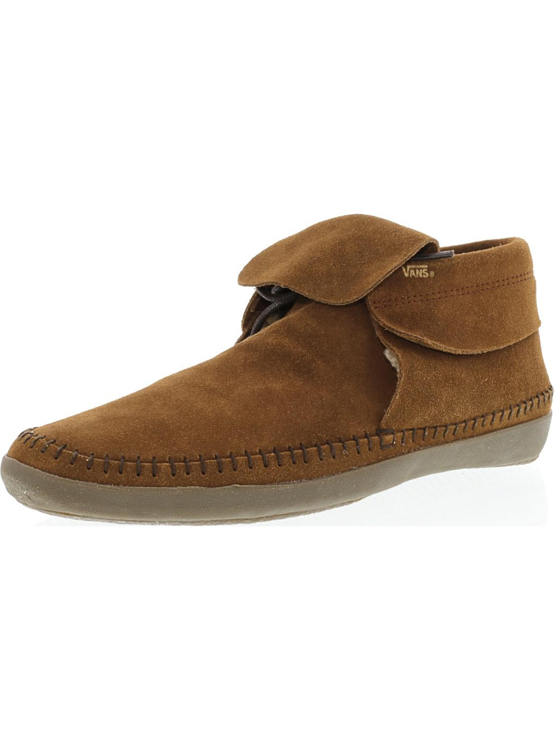 0ed973e41e Lyst - Vans Mohikan Fleece Ankle-high Suede Moccasins - 10.5m in ...