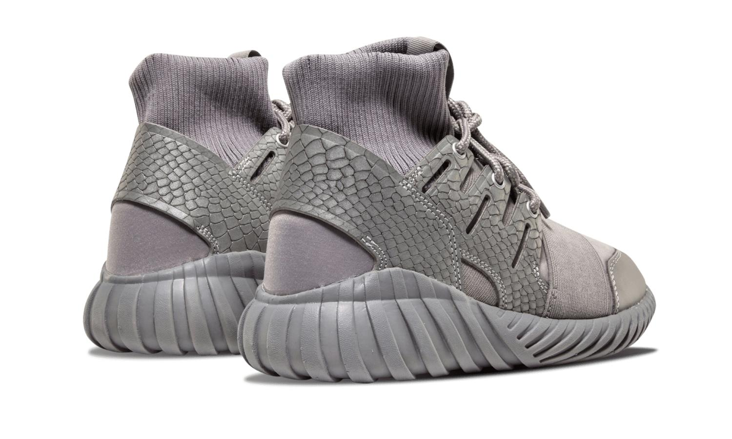 99325d509e3c ... italy lyst adidas tubular doom luxe textile s74791 in gray for men  5dfae 7ae09