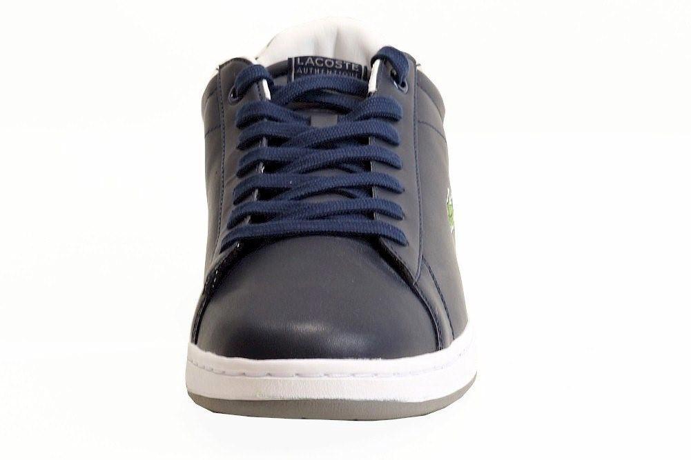 5f09d41dd059 Lacoste - Blue Carnaby Evo Crt Spm Dark Sneakers Shoes Sz  11 for Men -.  View fullscreen