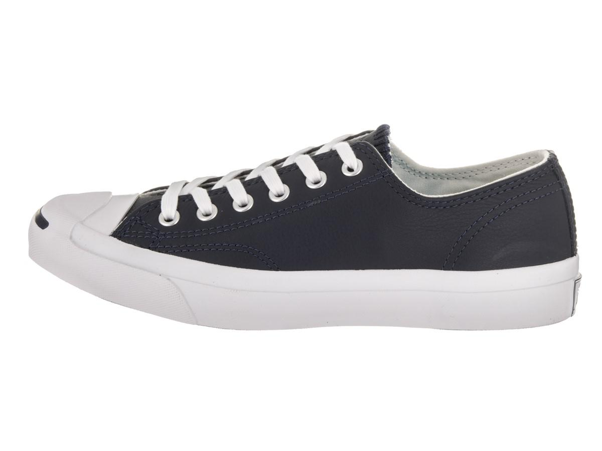 31ad4e05f77a Lyst - Converse Unisex Jack Purcell Jack Ox Obsidian buff white ...