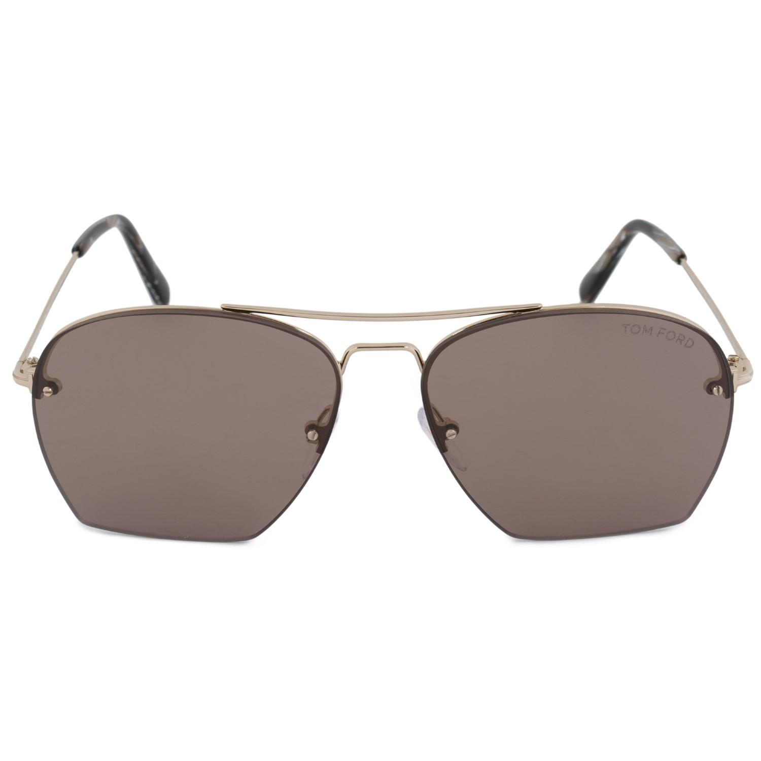 25040b0ed9 Lyst - Tom Ford Whelan Square Sunglasses Ft0505 28e 58