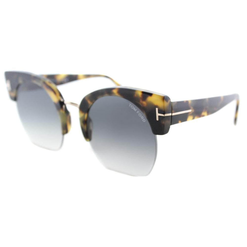 f8ff1bfed48a5 Tom Ford Savannah Tf 552 56b Womens Blonde Havana Plastic Sunglasses ...
