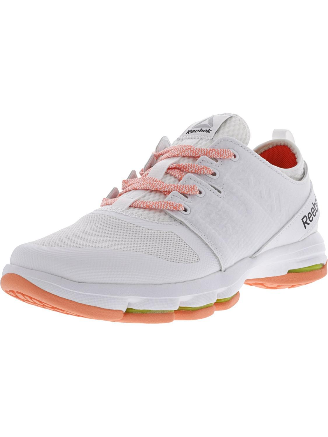 f0fc4655a698 Lyst - Reebok Cloudride Dmx White   Pink Carotene Ankle-high Walking ...