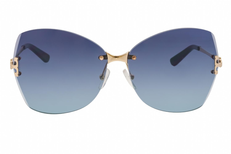 06da60a5e9b Lyst - Tory Burch Ty6030 Sunglasses Gold teal Gradient in Blue