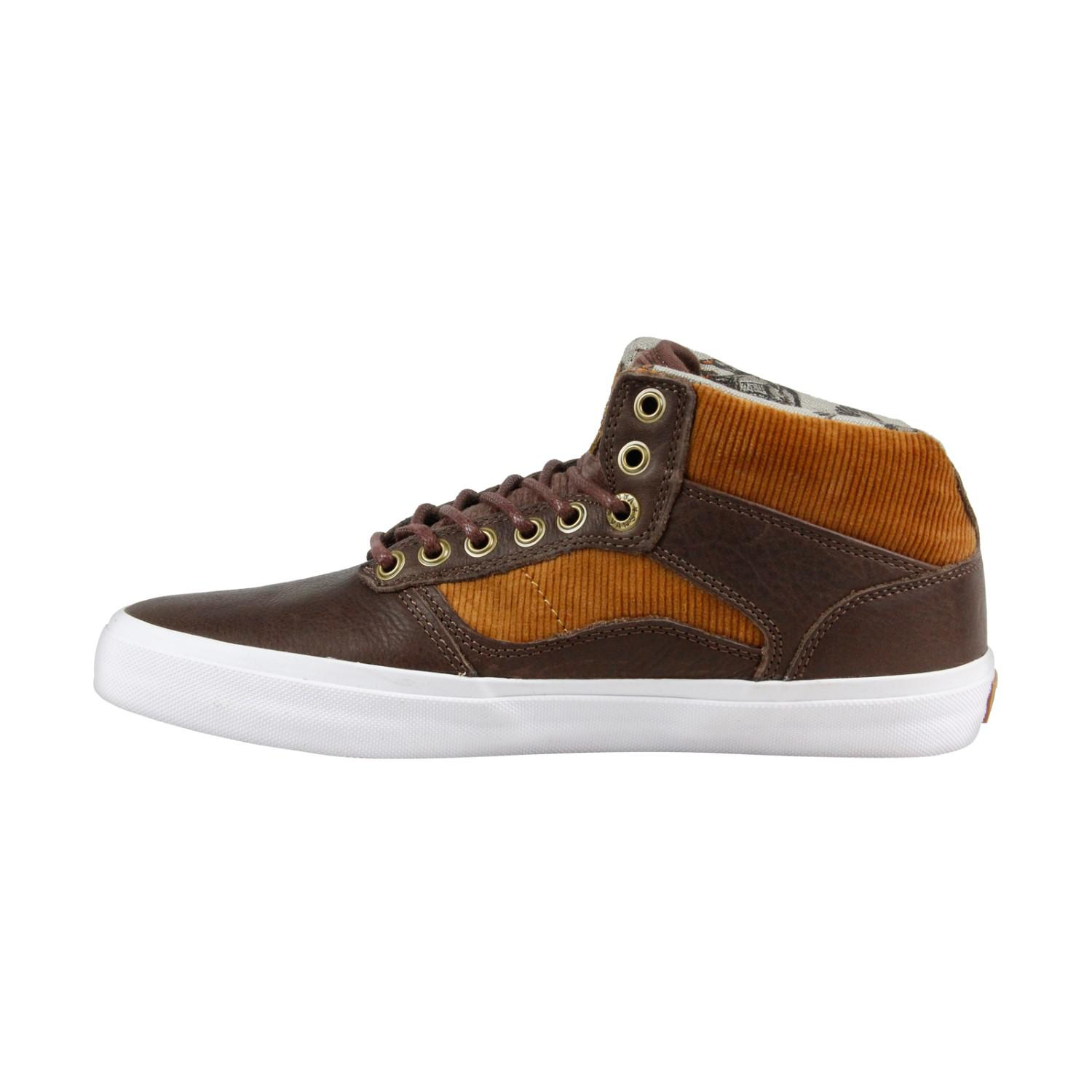 3eb39a02566310 Lyst - Vans Bedford Duck Hunt Brown White Mens High Top Sneakers in ...