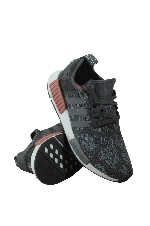 lyst adidas originali by9647 donne nmd r1 w grefiv grethr rawpin