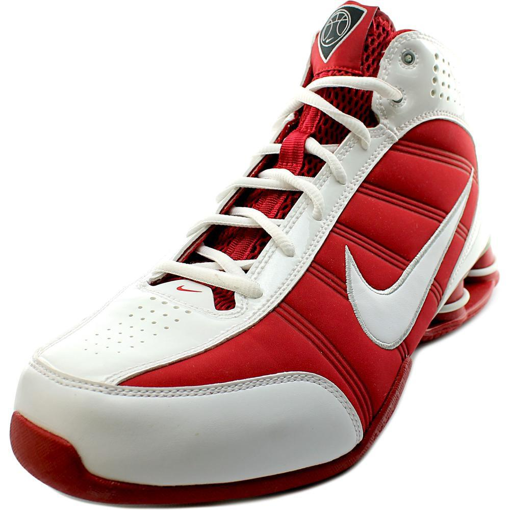 77c3ef50f366 clearance lyst nike shox vision women us 10.5 red basketball shoe in red  799e5 8716e