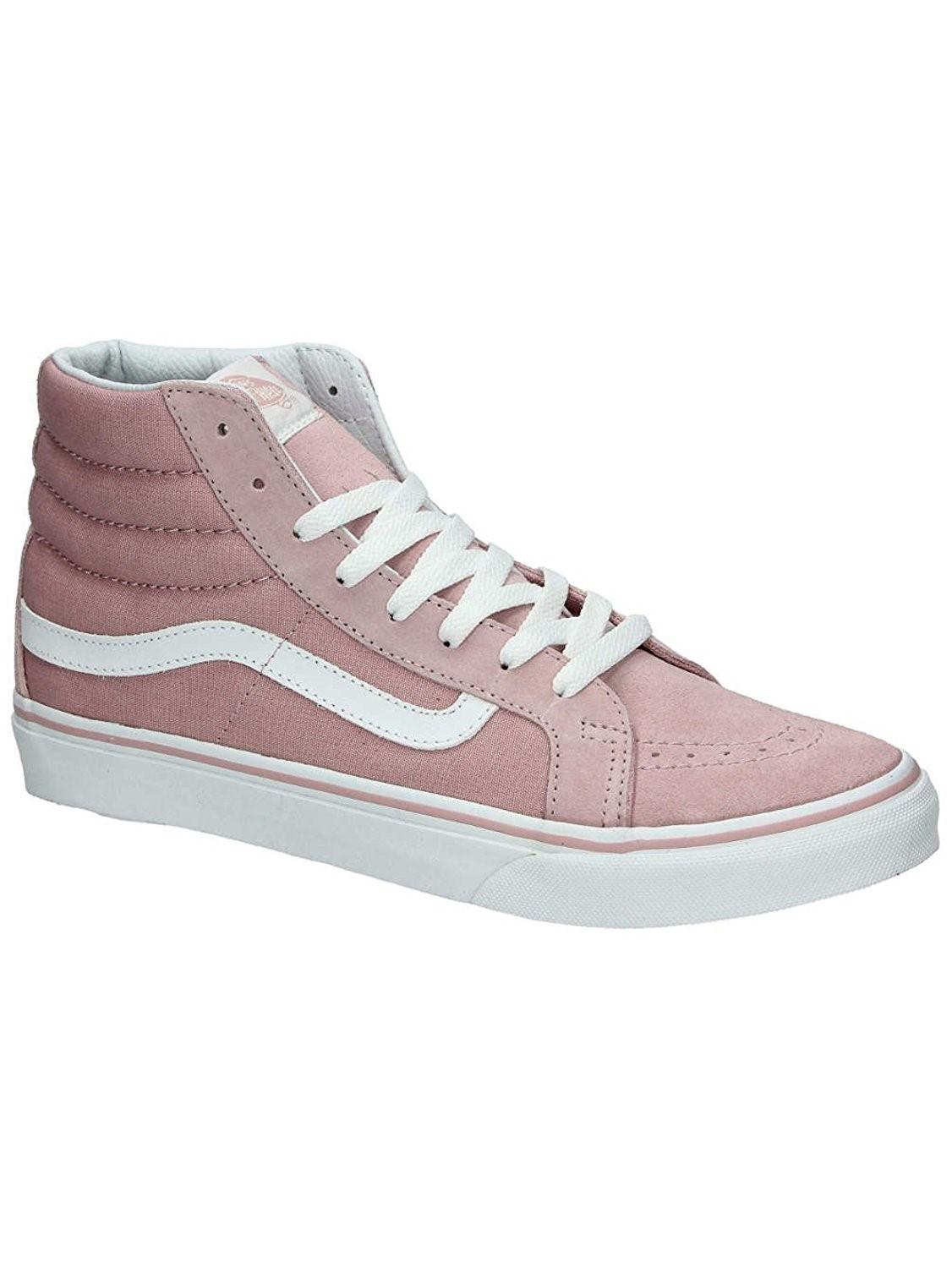 4412a790f1 Lyst - Vans Sk-hi Slim Hight Top Lace Up Fashion in Pink