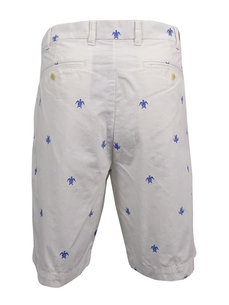 ab412e05ee Lyst - Tommy Hilfiger Sea Turtle Print Shorts in White for Men