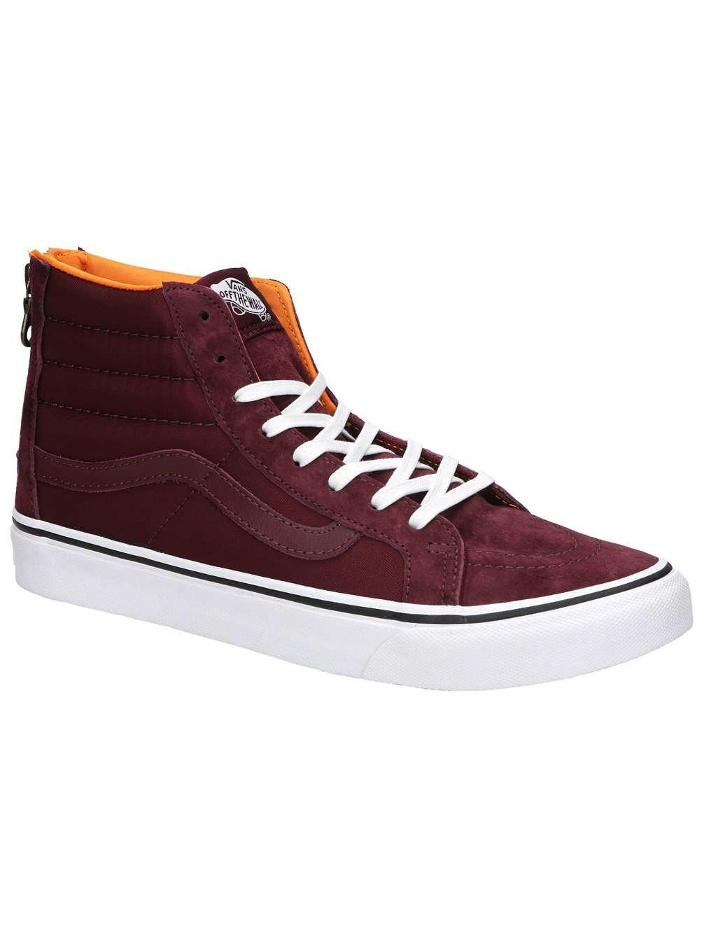 7d0afbff33b Lyst - Vans Vn-0a38groc7   Sk8-hi Slim Zip Mens Skateboarding Shoes ...