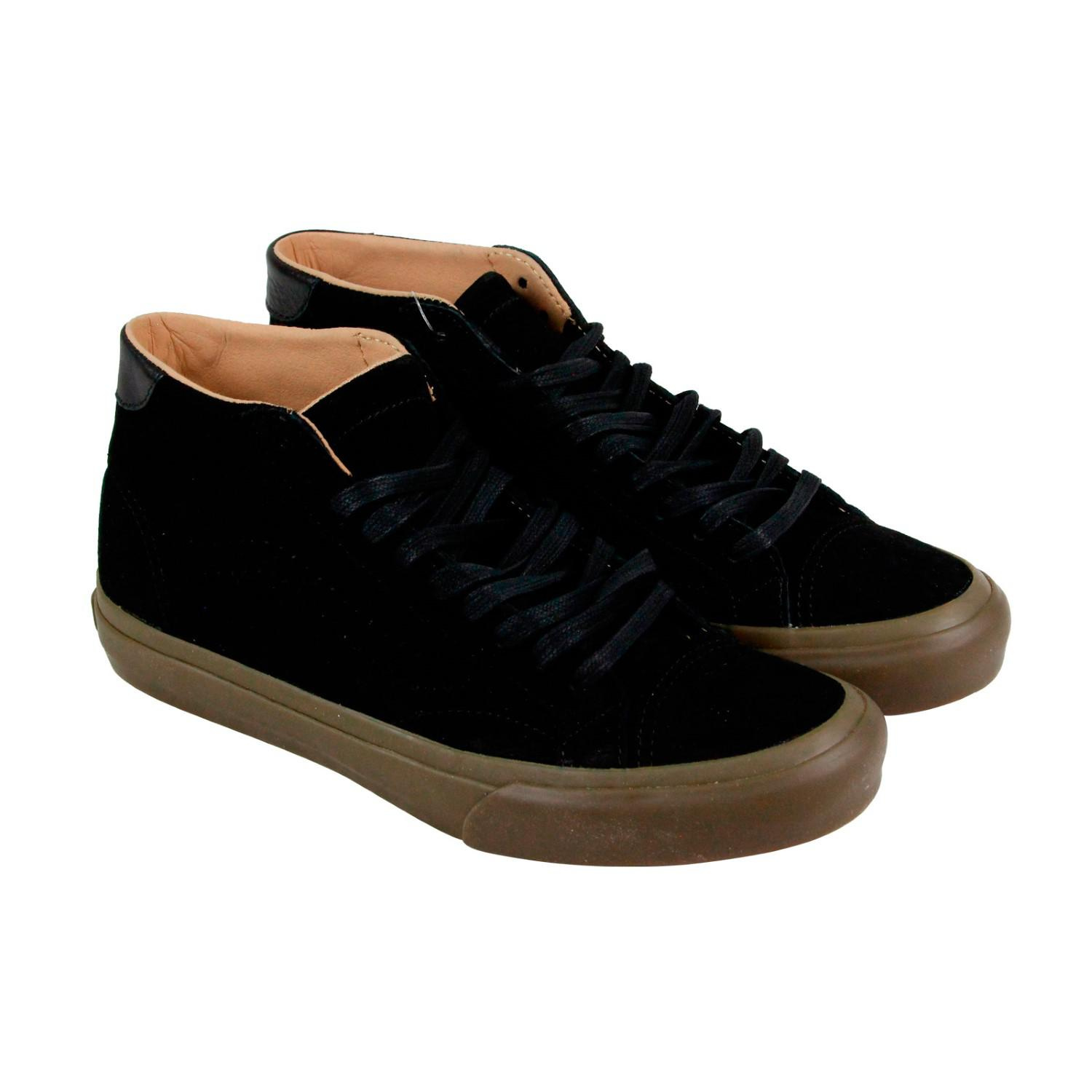 64ded7f2e3 Lyst - Vans Court Mid Dx Tanner Black Dark Gum Mens Lace Up Sneakers ...