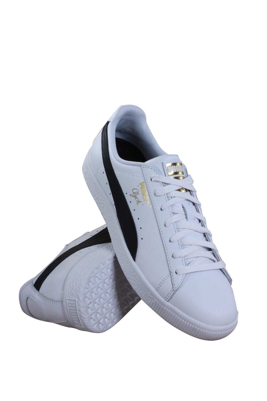 40537422a7d Lyst - PUMA Mens Clyde Core Foil White   Black Shoes in Blue for Men