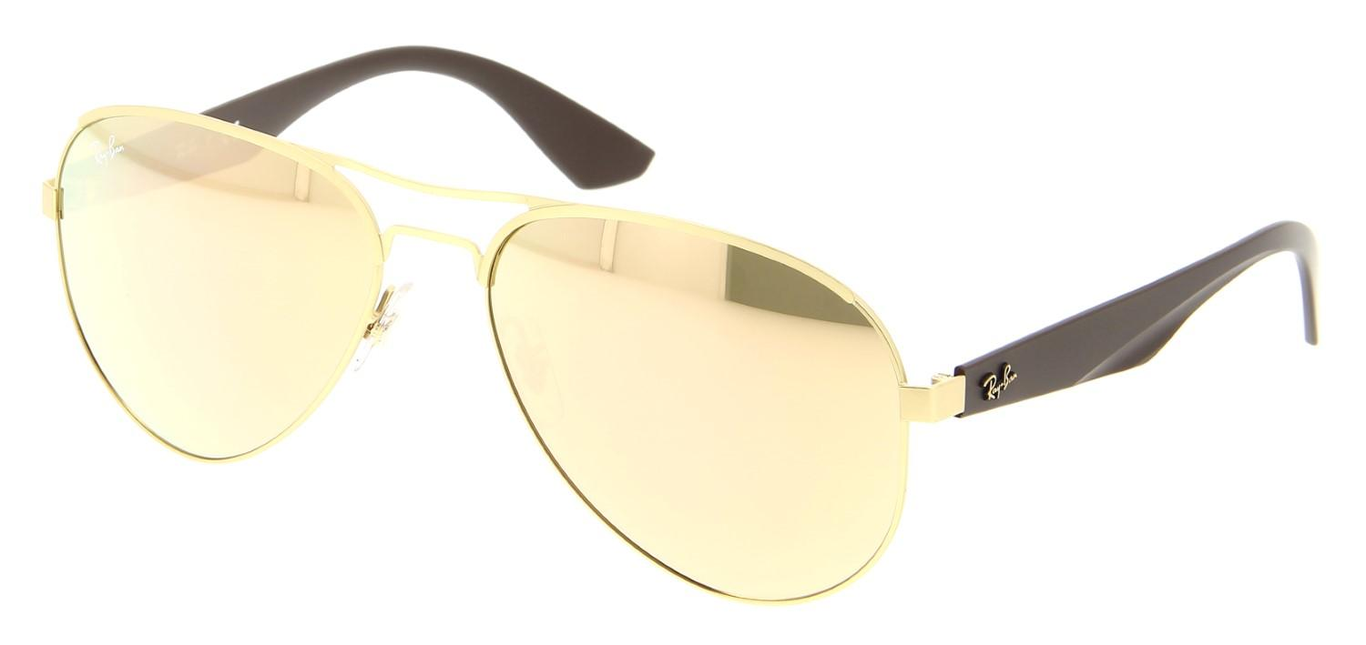 7d4c773dcf Lyst - Ray-Ban Sunglasses Rb 3523 112 2y Matte Gold in Metallic