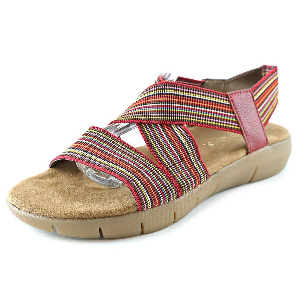 34e4c7a4f1fc Lyst - Aerosoles Wip Gloss Women Us 11 Multi Color Slides Sandal