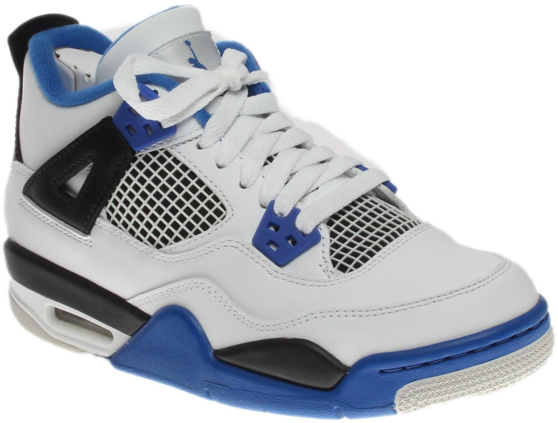 8bfc3fbe97ddb0 Lyst - Nike Boys Air Jordan 4 Retro Bg