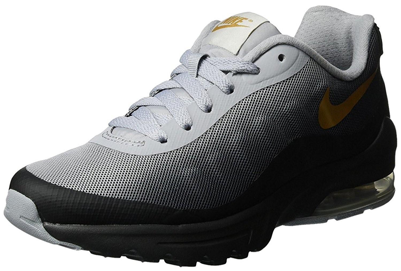 43a3c50f86 Nike Air Max Invigor Print Black/metallic Gold Wolf Grey Running ...
