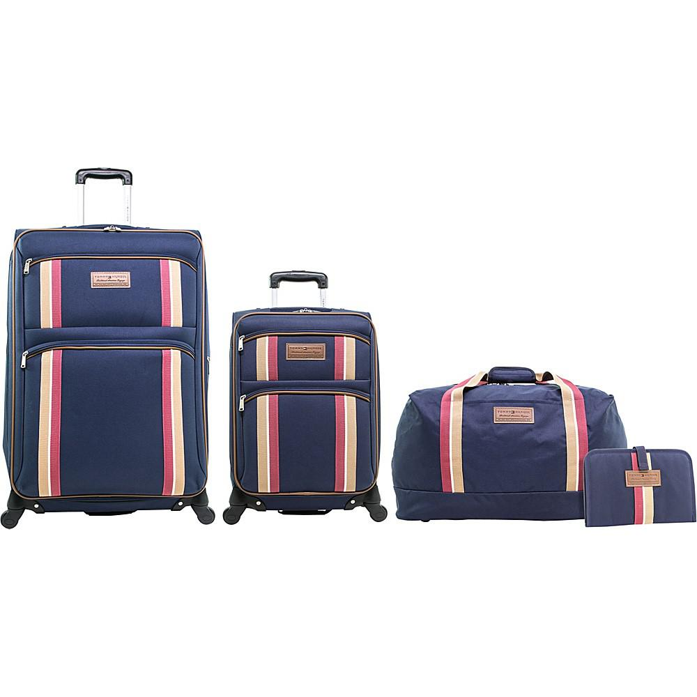 fedf36916b Tommy Hilfiger Luggage North Harbour 4 Piece Luggage Set in Blue - Lyst