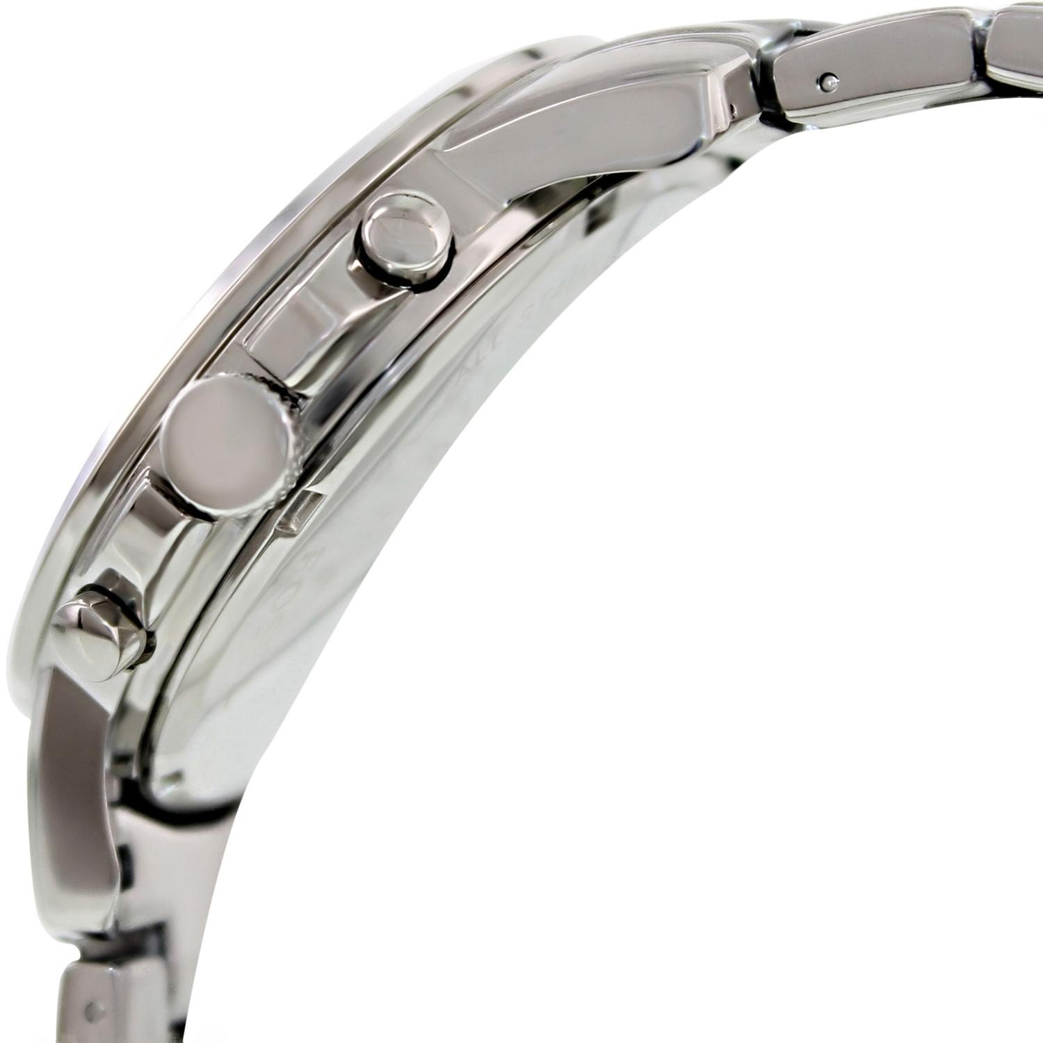 Lyst Fossil Fs4736 Grant Stainless Steel Watch In Metallic For Men Gallery