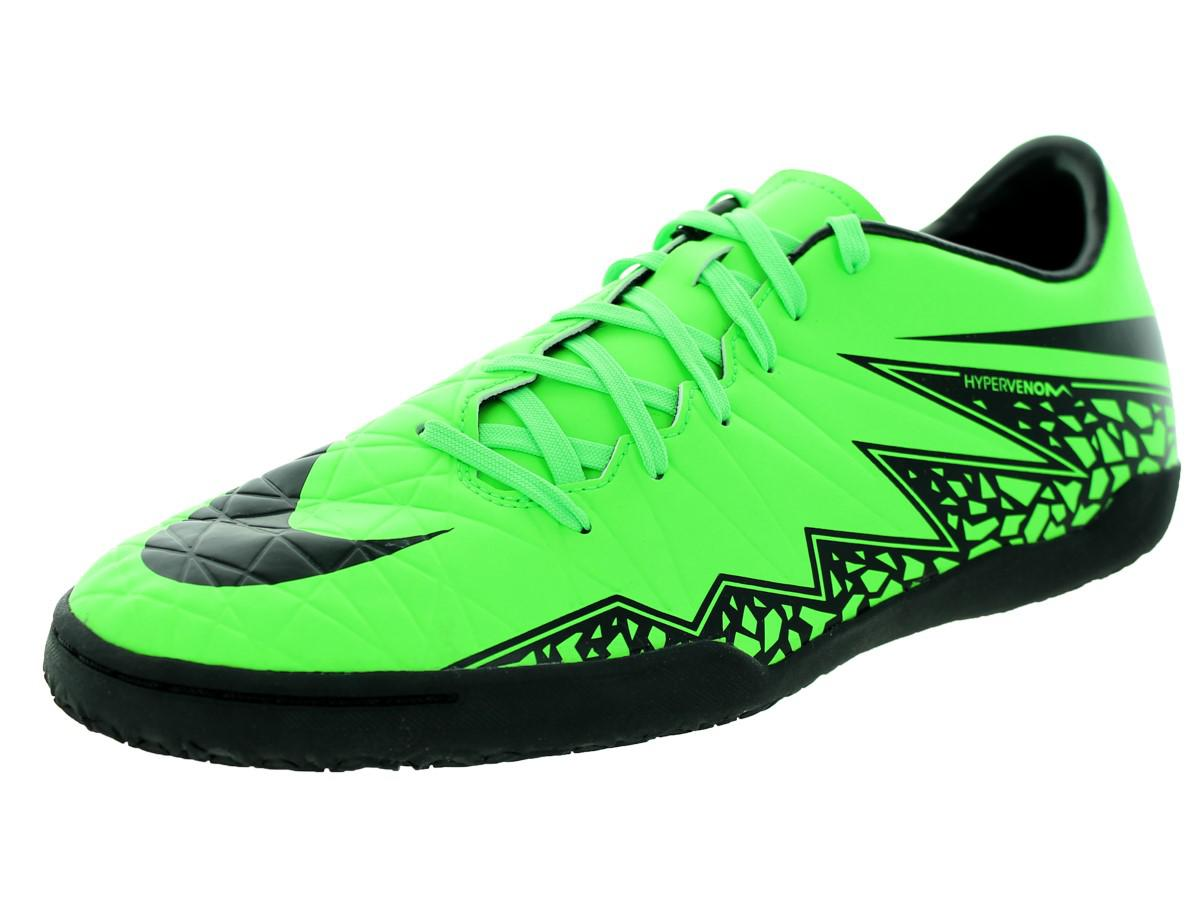 7ed69cd6d644 Lyst - Nike Hypervenom Phelon Ii Ic Green Strike black black Indoor ...