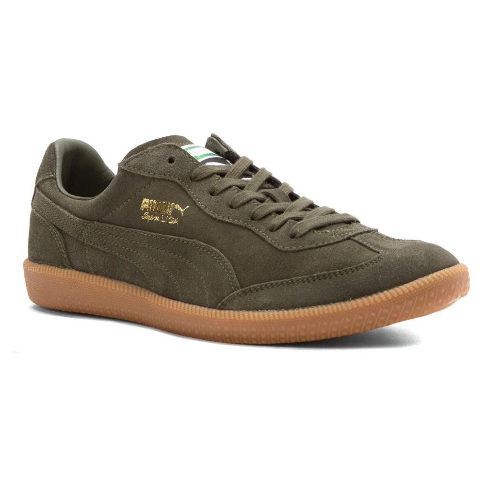 Puma men's super liga modern heritage fashion sneaker shoes