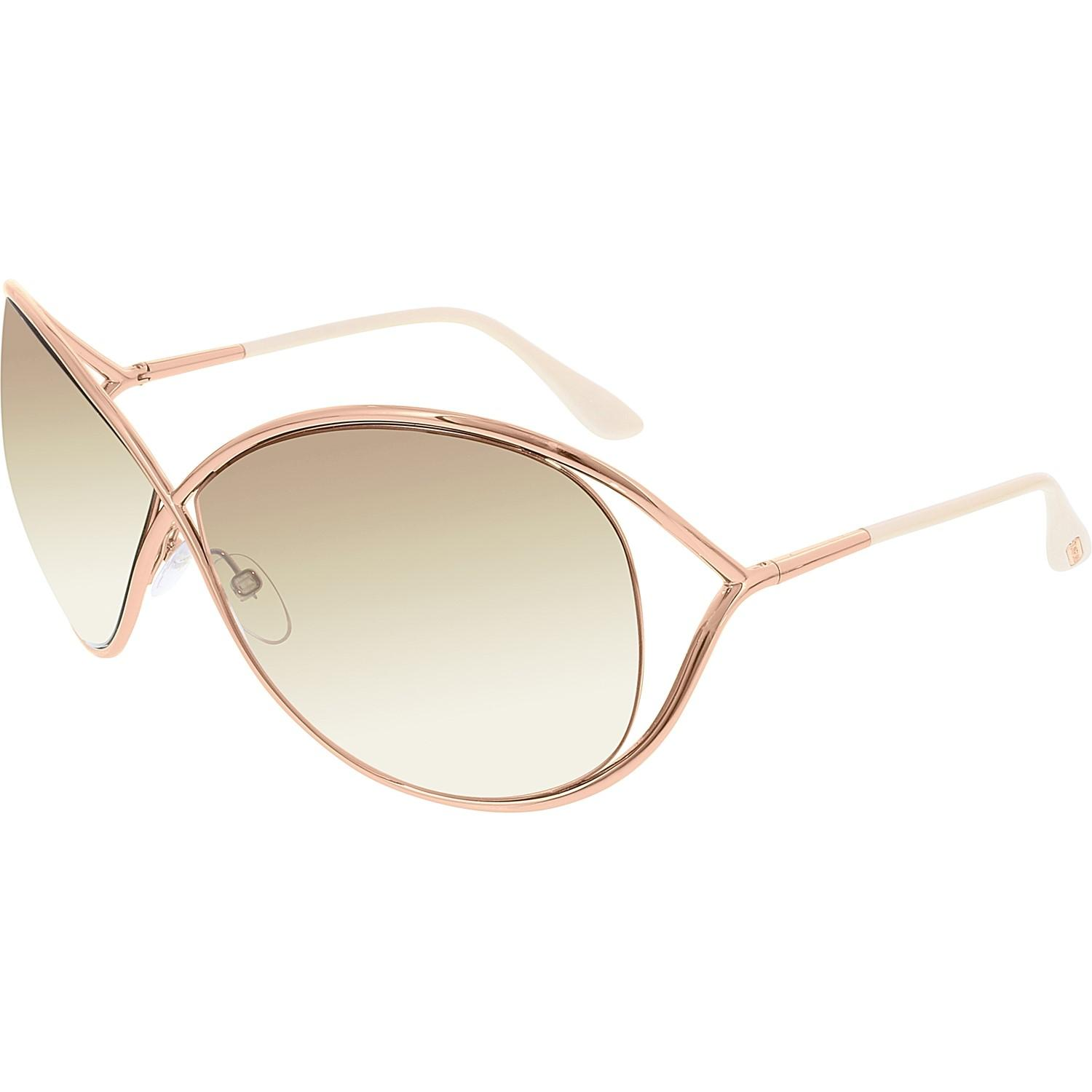 3bc979801a7e Lyst - Tom Ford Gradient Miranda Ft0130-28f-68 Rose Butterfly ...