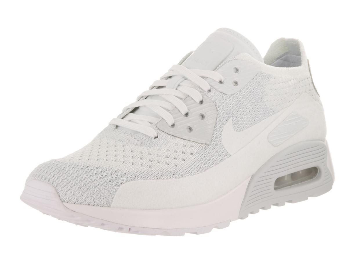 c83091ee Lyst - Nike Air Max 90 Ultra 2.0 Flyknit White/white/pure Platinum ...