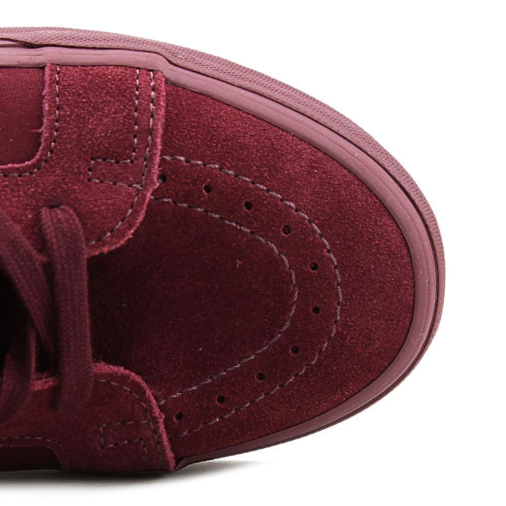 1a96edcb736 Lyst - Vans Sk8-hi Reissue Zip Men Us 9.5 Burgundy Skate Shoe in Red ...