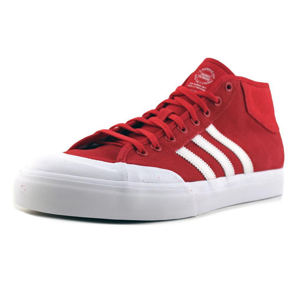 lyst adidas matchcourt metà uomini noi 12 delle scarpe rosse in rosso per gli uomini.