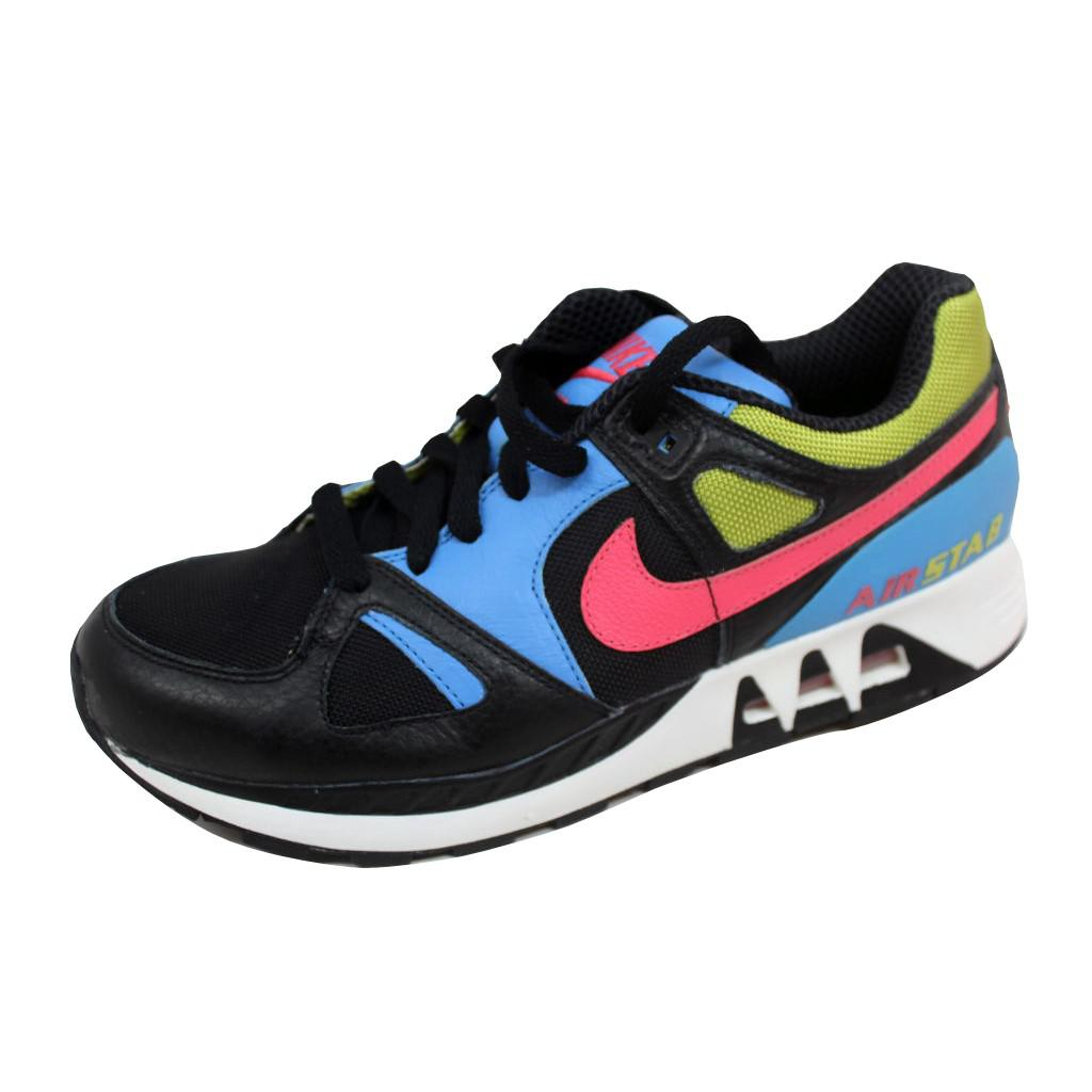 new arrival ff57a c1e04 Lyst - Nike Air Stab Blackflamingo-bright Cactus 316402-081