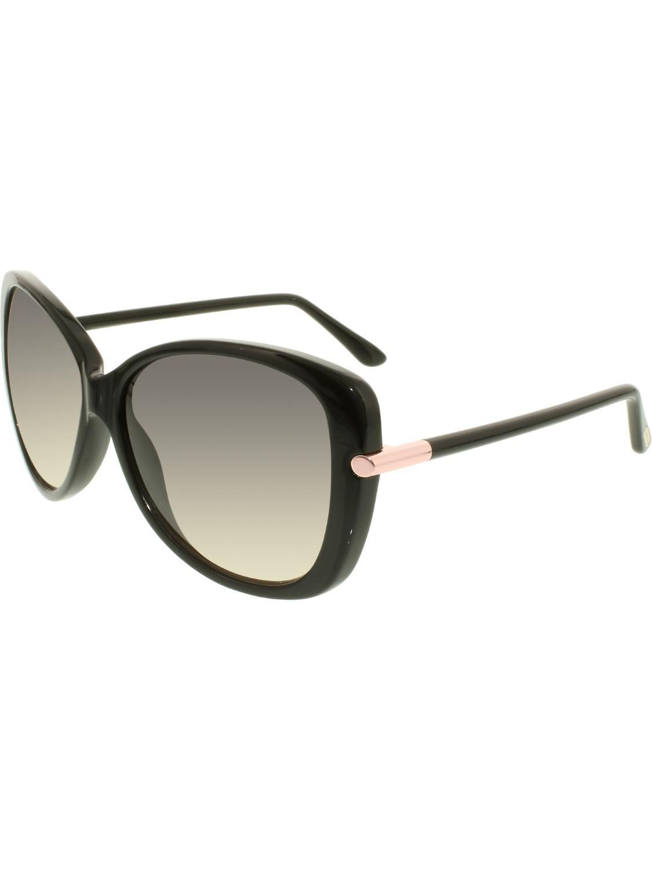 4b71176173a Lyst - Tom Ford Ft0324 Linda Cateye Sunglasses in Black