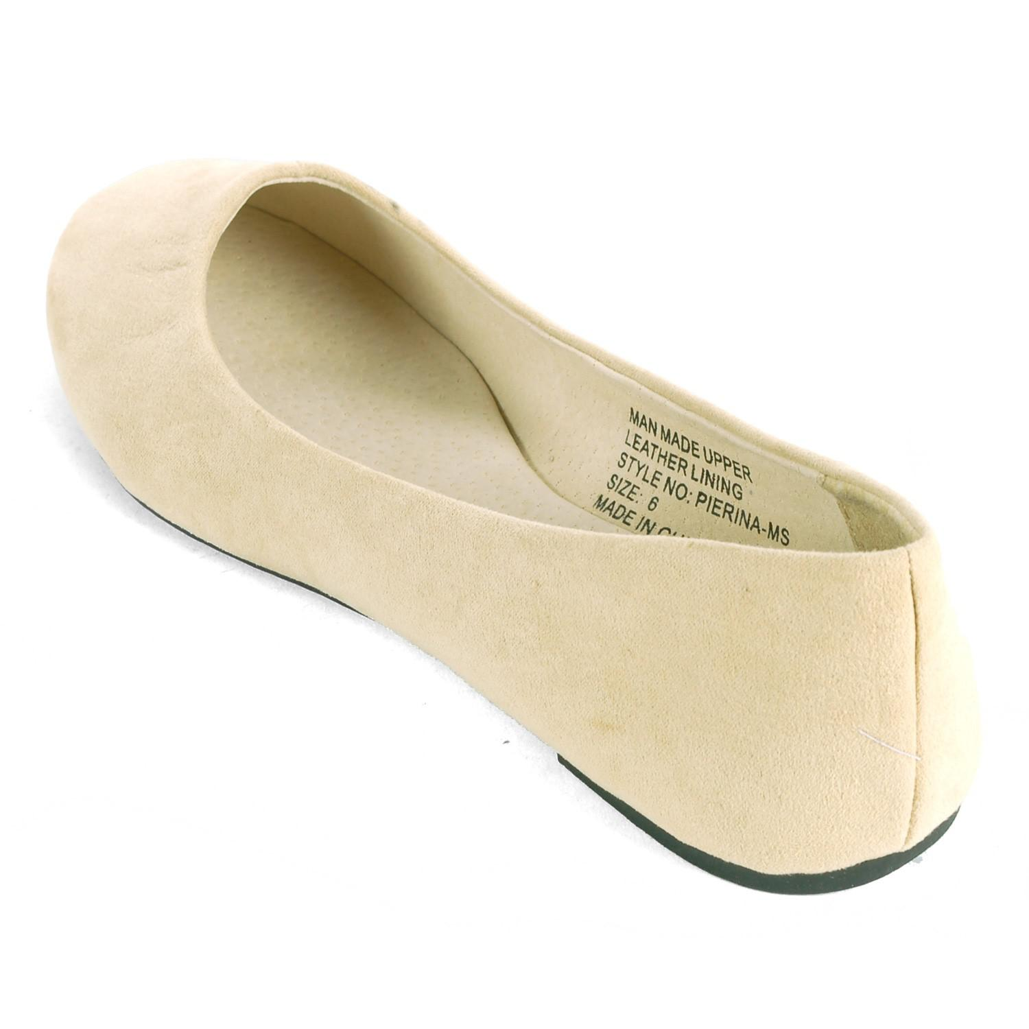 71d7f2feb1500 Lyst - Alpine Swiss Pierina Ballet Flats Leather Lined Classic Slip ...